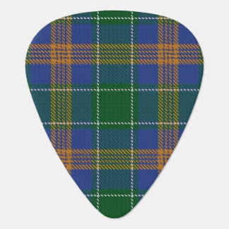 Clan MacAuliffe McAuliffe Sounds of Ireland Tartan Guitar Pick