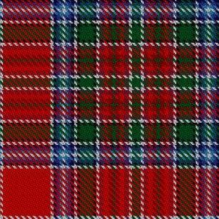 Clan MacBean MacBain Scottish Heritage Tartan Shower Curtain