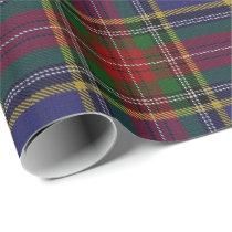Clan MacBeth Scottish Tartan Wrapping Paper