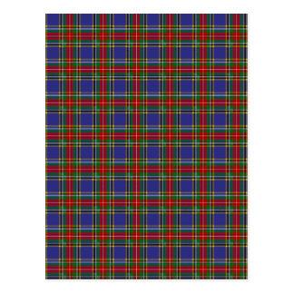 Clan MacBeth Tartan Postcards
