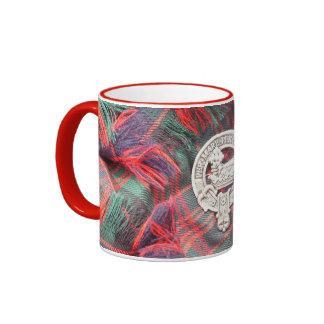 Clan MacDonald 11 oz Ringer Mug, You Customize Ringer Mug