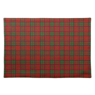 Clan MacDonald del tartán de Glencoe Manteles