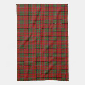 Clan MacDonald del tartán de Glencoe Toallas De Mano