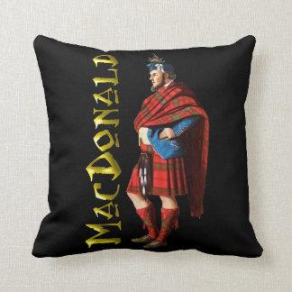 Clan MacDonald Highland Dream Throw Pillow