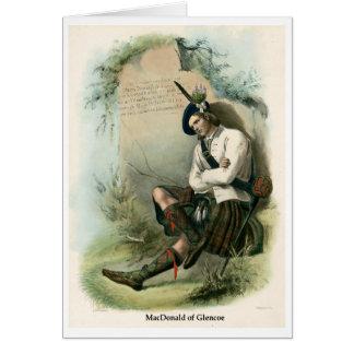 Clan MacDonald of Glencoe Card