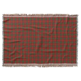 Clan MacDonald Of Glencoe Tartan Throw Blanket