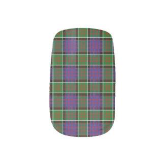 Clan MacDonald Of Ranald Tartan Minx® Nail Wraps