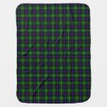 Clan MacDonald Of The Isles Tartan Baby Blanket