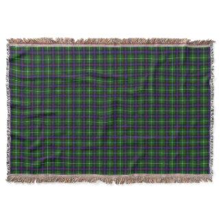 Clan MacDonald Of The Isles Tartan Throw