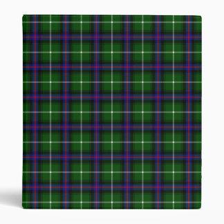 Clan MacDonald Of The Isles Tartan Vinyl Binder
