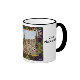 Clan MacDonald, tartan mug