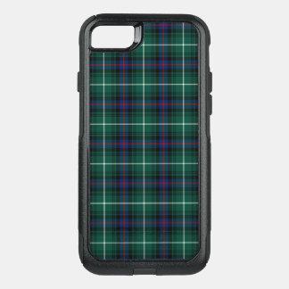 Clan MacDonald Tartan Navy Blue and Green Plaid OtterBox Commuter iPhone 7 Case