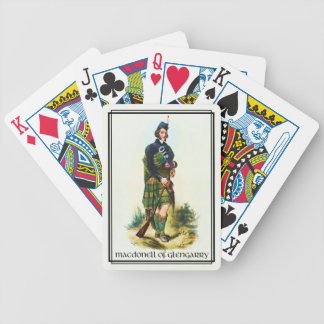Clan MacDonell of Glengarry Classic Scotland Bicycle Playing Cards