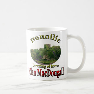 Clan MacDougall Dreaming of Home Dunollie Castle Coffee Mug