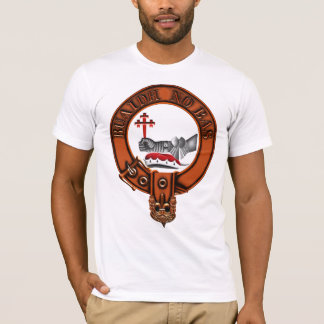 Clan MacDougall Family Crest and Targe T-Shirt