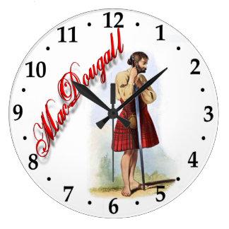 Clan MacDougall Scottish Dream Clock