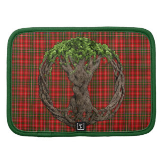 Clan MacDougall Tartan And Celtic Tree Of Life Folio Planners