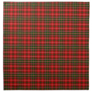 Clan MacDougall Tartan Cloth Napkin