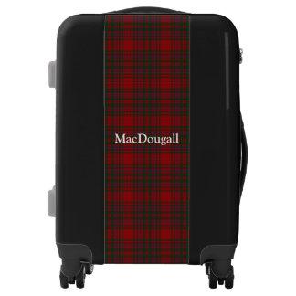 Clan MacDougall Tartan Customize Your Name Luggage