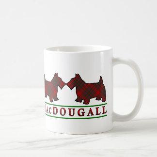 Clan MacDougall Tartan Scottish Scottie Dogs Coffee Mug