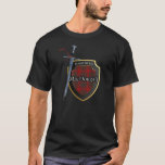 Clan MacDougall Tartan Scottish Shield & Sword T-Shirt