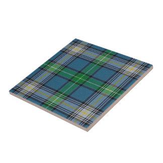 Clan MacDowall Scottish Expressions Tartan Ceramic Tile