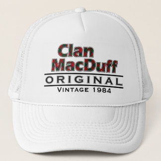 Clan MacDuff Vintage Customize Your Birthyear Trucker Hat