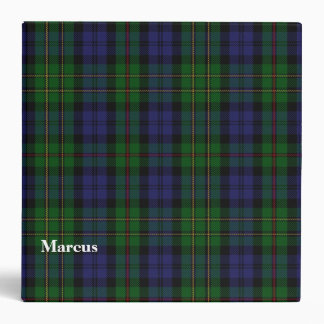 Clan MacEwen Custom Tartan Plaid Binder
