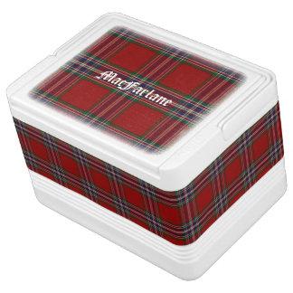 Clan MacFarlane Classic Tartan Plaid Igloo Cooler