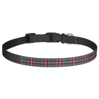 Clan MacFarlane Hunting Tartan Pet Collar