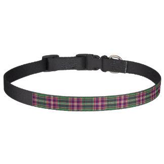 Clan MacFarlane Hunting Tartan Pet Collar