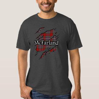 Clan MacFarlane McFarland Tartan Spirit Shirt