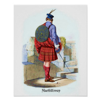 Clan MacGillivray by R. R. McIan Posters