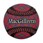 Clan MacGillivray Scottish Tartan Baseball