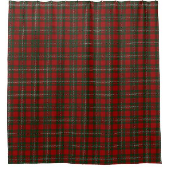 Clan MacGregor Gregor Scottish Heritage Tartan Shower Curtain