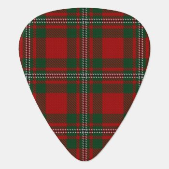 Clan Macgregor Gregor Sounds Of Scotland Tartan Guitar Pick by OldScottishMountain at Zazzle