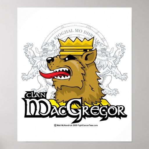 Clan MacGregor Impresiones
