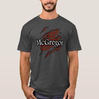 Clan MacGregor McGregor Tartan Spirit Shirt