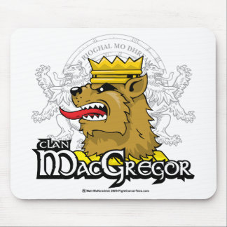 Clan MacGregor Mouse Pad