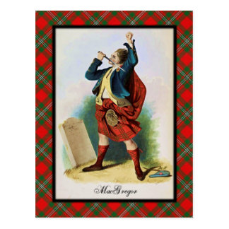 Clan MacGregor Scottish Dreams Postcard