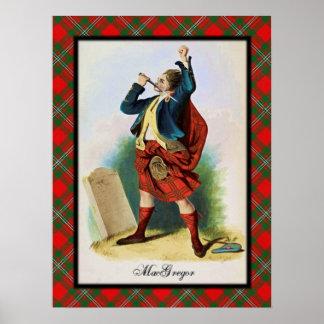 Clan MacGregor Scottish Dreams Poster