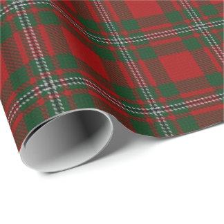 Clan MacGregor Scottish Tartan Wrapping Paper