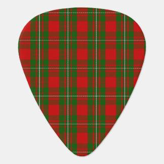 Clan MacGregor Tartan Guitar Pick