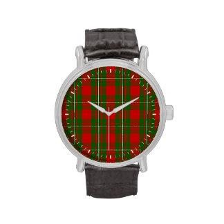 Clan MacGregor Tartan Wrist Watches