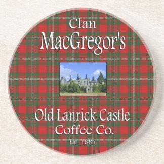 Clan MacGregor's Old Lanrick Castle Coffee Co. Drink Coaster