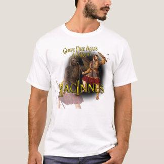 Clan MacInnes Ghift Dhe Agus An Righ T-Shirt