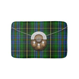 Clan MacInnes Tartan And Sporran Bathroom Mat
