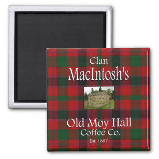 Clan MacIntosh's Old Moy Hall Coffee Co. Magnet