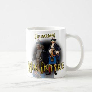 ¡Clan MacIntyre Cruachan! Taza escocesa vieja