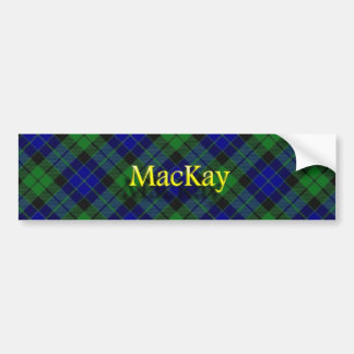 Clan MacKay Scottish Car Bumper Sticker